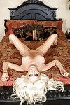 Astonishing blond gal Katie Calloway showing off her surprising distorts