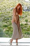 Pretty redhead Ariel Piper Fawn freeing valuable MILF bazookas despite the fact glam widen