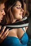 Smokey Clarinets, Louisiana jazz, ebony stripes, china hotty skin contrasted against charcoal leather and a throaty playgirl fairy babe, getting her tit buttons tongued and her cleft savored. What s not to love! This scene has it all a 60s retro feel, fel