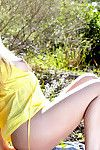 Sophia keen to to wank in the open, that babe loves the shuffle breeze on her skin and the dream that some person might run fall in love with her...