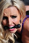 Alluring golden-haired Dannii Harwood had been a fucking dirty queen and needed teaching a lesson! So take a notice her vulnerable in the dungeon, united in rigging subjection with her passionate chop gagged!