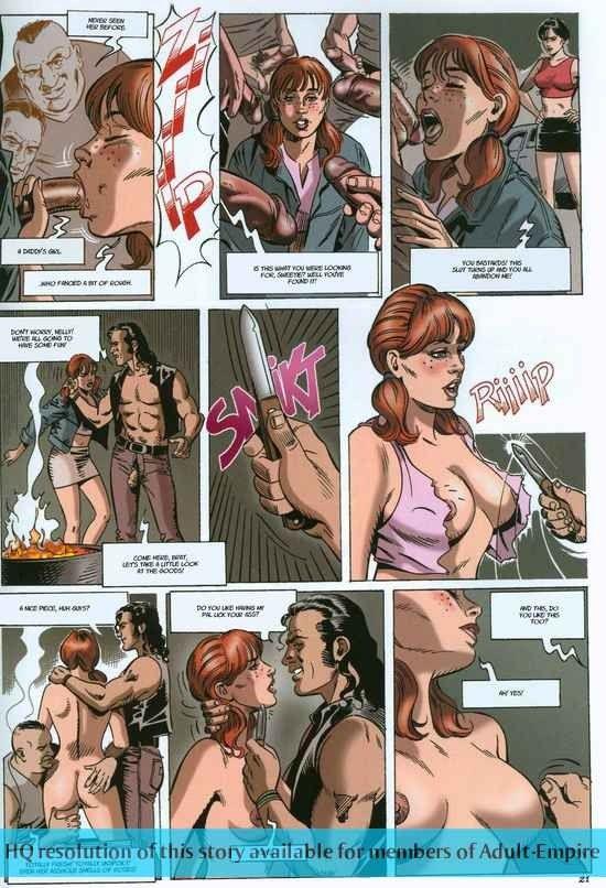 hot Adult comic