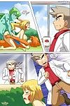 What happens in pallet town- Pokemon