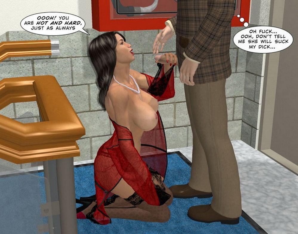 Порно Комиксы Новая Секретарша