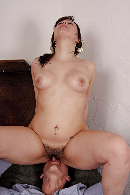 Chubby Latina first timer Bella using hairy pussy to ride cock