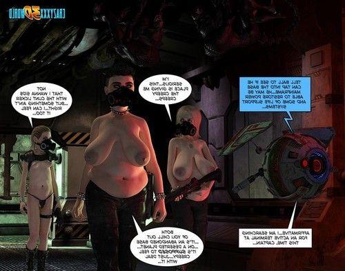 Weird 3d fantasy comics
