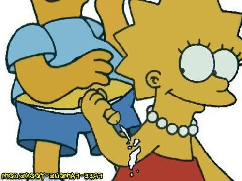 Bart and lisa simpsons famous cartoon sex