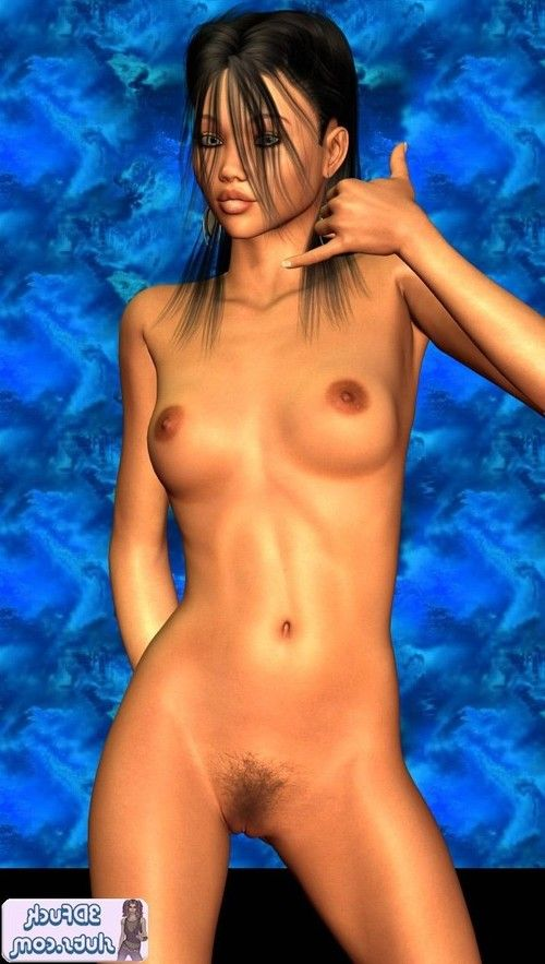 Toon girl naked poses