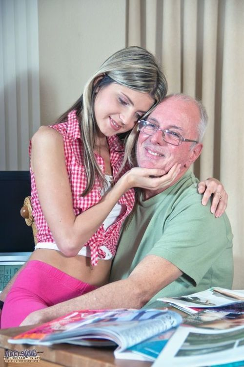 At only 22 years old, Gina Gerson is fucking spoiled mistress that asks from her partner, a 66 years old man, to buy her more clothes. Poor Oldje has only one wish, to get a new car but this young pussy leaves him penniless. Things get hectic when he ment