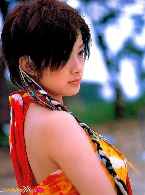 Aya Ueto Chinese cutie hints different fabulous moments of her life