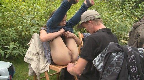 Amateur outdoor group sex pictures