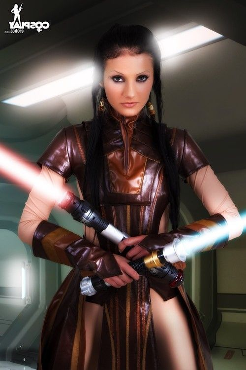 Cosplayerotica  bastila shan star wars nude cosplay