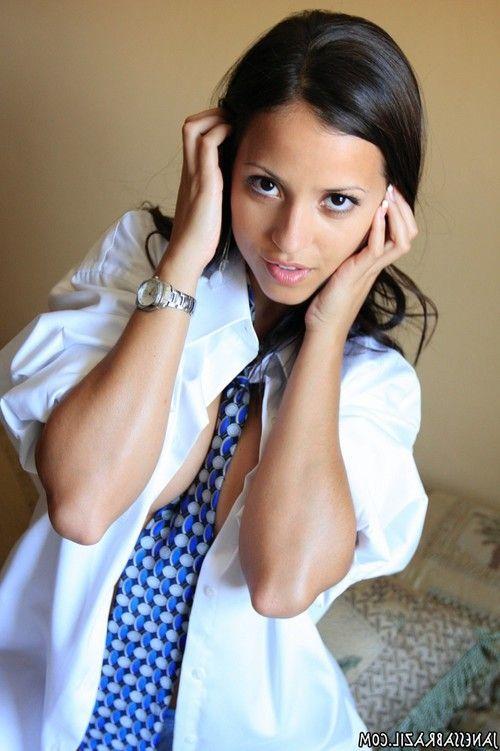 Naughty shirt and tie