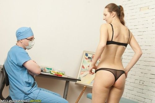 Gyno doctor humiliates and tyrannizes his shy teen patient