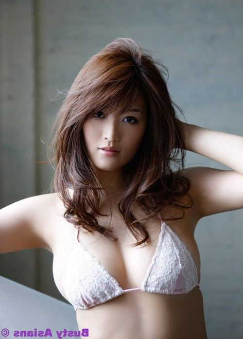 Big breasted mai hakase in lingerie