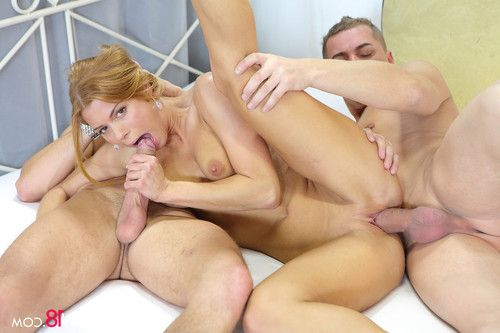Redhead chrissy fox always has it good when it comes down to 3so
