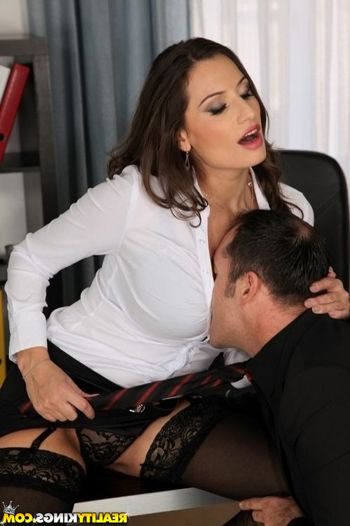 Office worker Sensual Jane gets her ass fucked at work by co-worker