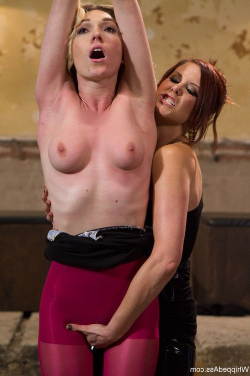 Watch as maitresse madeline, bobbi starr and their sluts for the day, lily labea