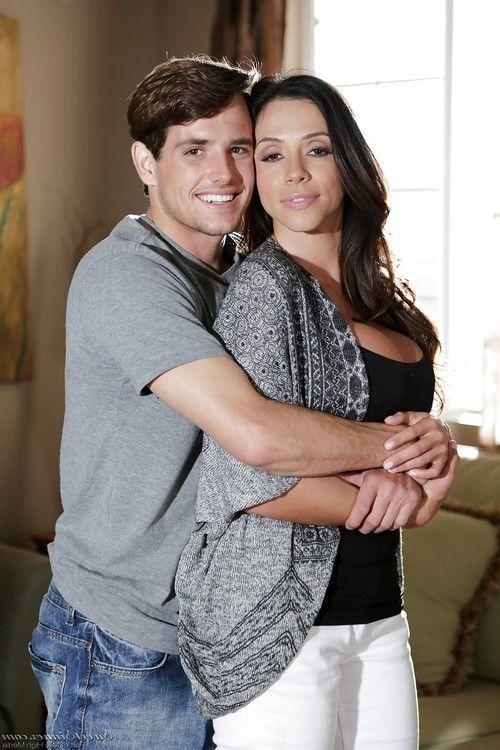 Latina MILF pornstar Ariella Ferrera having big tits exposed by Tyler Nixon