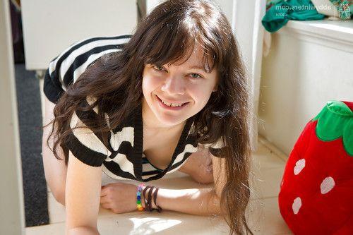 Amateur girl Dannah has lovely set of all natural teen juggs