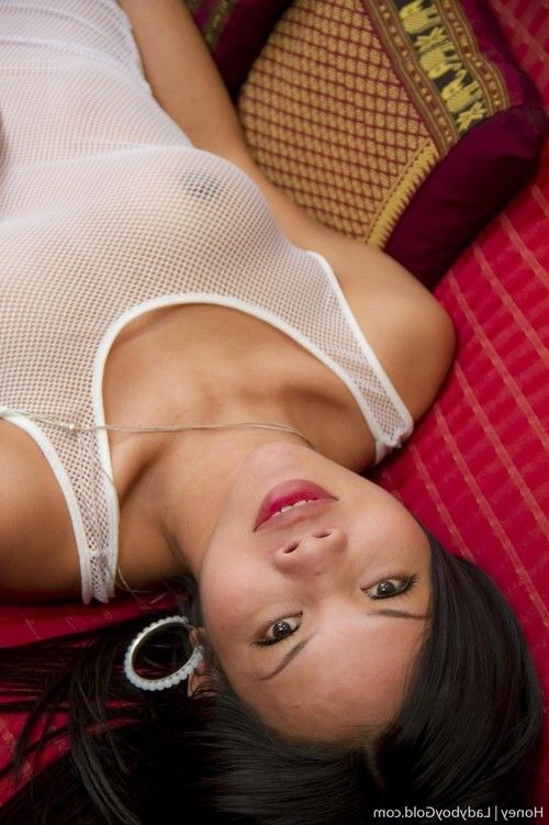 Asian ladyboy anal toying