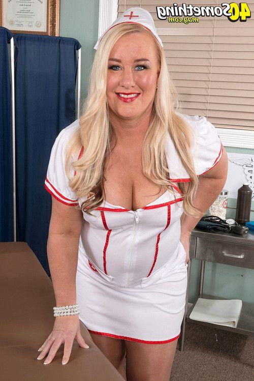Mature nurse jenna bouche takes it up the ass