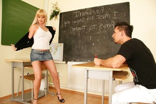 Filthy teacher Natallie D