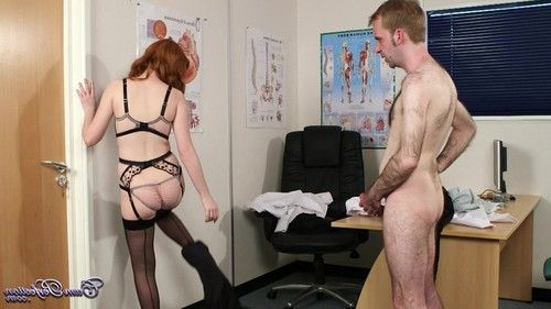Facial for redhead from cumperfection