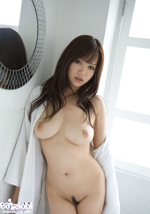 Japanese model with big tits