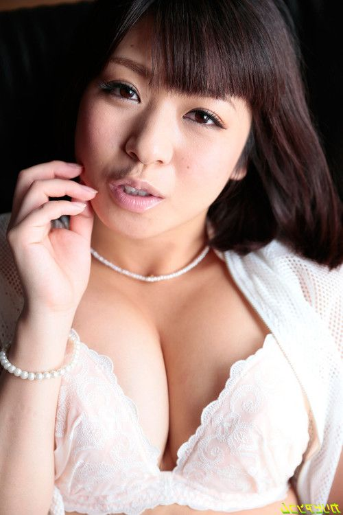 Busty fashion model av debut