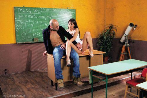 Anal sex in school with hot teacher