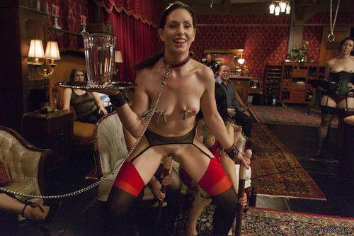Gorgeous house slave sarah shevon initiates newcomer jodi taylor with hard anal