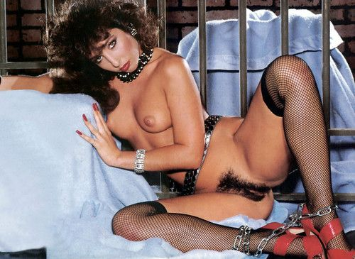 Vintage pornstar with hairy pussy