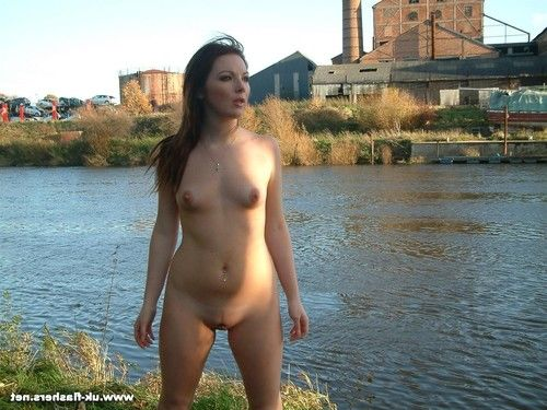 Pretty brunette amateur bryony is a real exhibitionist as these