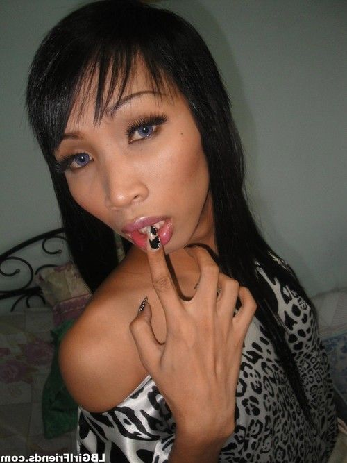 Amateur asian ladyboy exgirlfriend shows cock