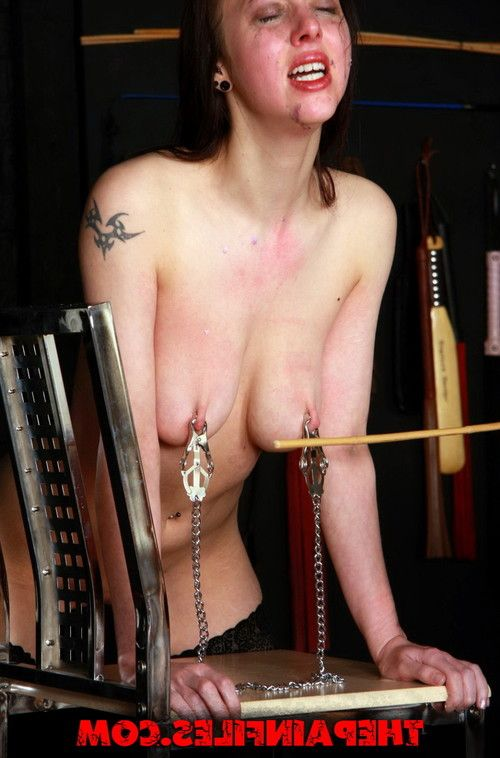 Painsluts needle torture and extreme bdsm of busty slavegirl emily in tight brea