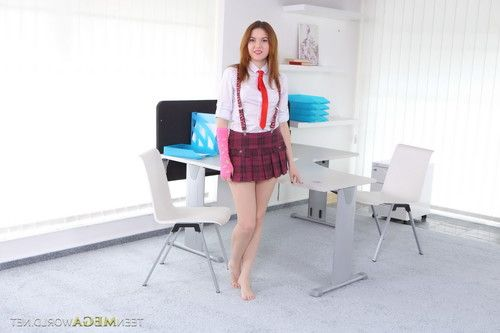 Horny 18yo schoolgirl fucked by her teacher