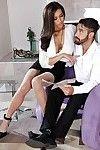 Jayden Lee is taking part in a fantastic cumshot scene with her boyfriend