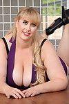 Sexy blonde bbw milf gets her ass filled