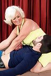 Jeannie lou relieves stress one suck at a time