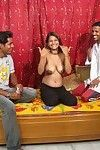 Indian babe gets played with