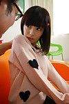 Petite teen japanese schoolgirl riding cock and creampied