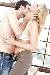 Loveable MILF Julia Ann enjoys a sensual sex with a younger guy