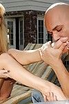 Blond MILF with gorgeous boobs Brooke Banner fucked by a stranger