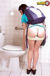 Shy teen kharlie stone spreading her legs in porn world