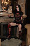 Satanic schoolgirl
