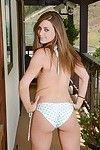 Cute teen delilah blue in bikini spreading