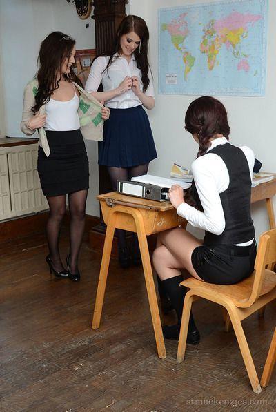 European lesbos Jessica-Ann Fegan, Nicola Rocco and Miss Taylor having sex