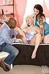 Bbw interracial sex threesome with black cock