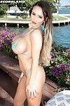 Amazing british bikini bitch danniella levy with big tits